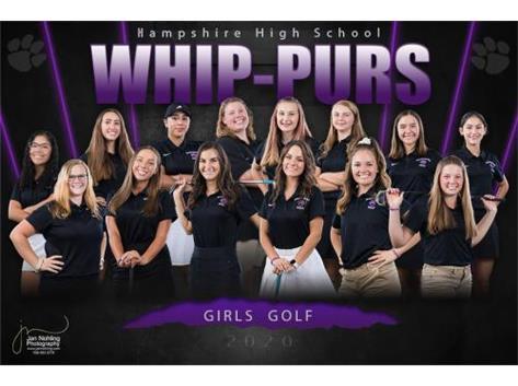 Girls Golf Team Photo 2020