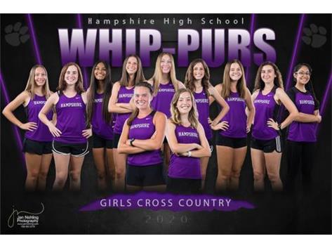 Cross Country Girls Team 2020