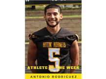 Athlete of the Week Antonio Rodriguez