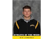 Athlete of the Week - Nik Jimenez