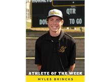 Athlete of the Week - Myles Brincks