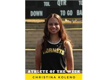 Athlete of the Week - Christina Koleno