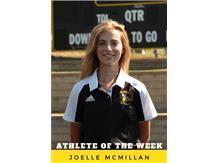 Athlete of the Week - Joelle McMillan