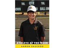 Athlete of the Week - Aaron Saucedo