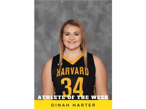Athlete of the Week - Dinah Harter