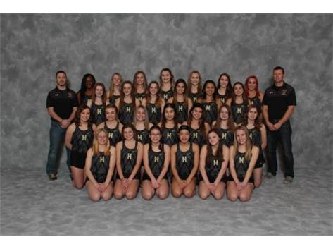 2019 Girls Track Team