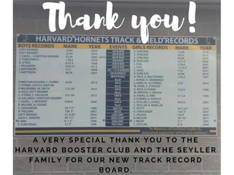 Our New Record Board