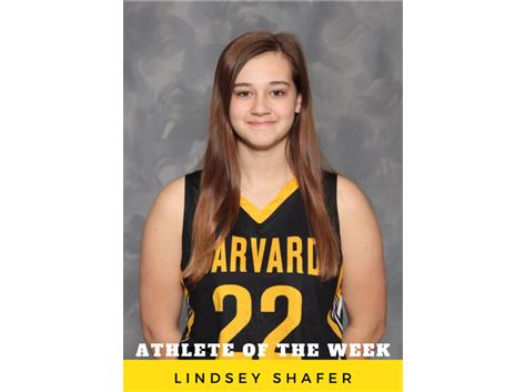 Athlete of the Week - Lindsey Shafer