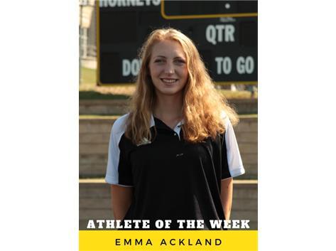 Athlete of the Week - Emma Ackland