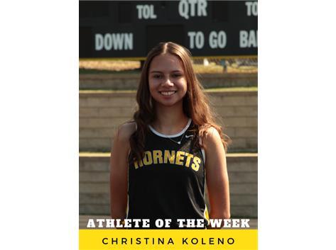 Athlete of the Week - Christina Koleno