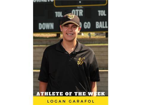 Athlete of the Week - Logan Garafol