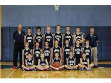 2013-2014 Middle School Basketball Team