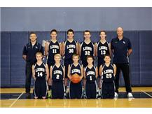 MS Varsity Boys Basketball Team 2014-2015