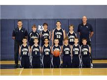 MS JV Boys Basketball Team 2014-2015