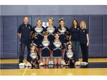 MS Cheerleading Team 2014-2015
