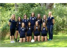 2015-2016 JV Volleyball Team
