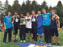 The HCA boys cross country team wins the 2015 IHSA Regional Championship, their second consecutive Regional Title. WE ARE LIONS