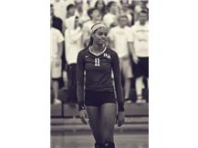 Mikayla Robinson is named the Courier News 2016 Girls volleyball Player of the Year, and finishes her career with 1047 career kills.