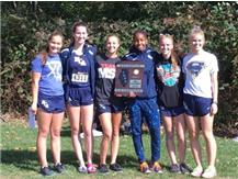 The HCA girls cross country team wins the 2017 Regional Title, their 2nd in the past 3 years.    WE ARE LIONS