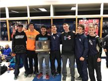 2017 HCA boys cross country team wins their 2nd consecutive IHSA Sectional Title.   WE ARE LIONS
