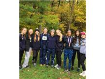 The 2017 HCA girls cross country team takes 9th place overall at the IHSA state finals, a school record best finish.  WE ARE LIONS