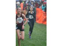 HCA Freshman Carsen Forte achieves All-State honors by finishing 22nd at the 2017 IHSA Cross Country state finals.  WE ARE LIONS