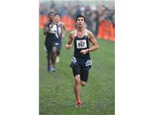 HCA Senior Andrew Dobrescu achieves All-State honors for the 2nd straight year by finishing 25th at the 2017 IHSA Cross Country state finals.  WE ARE LIONS