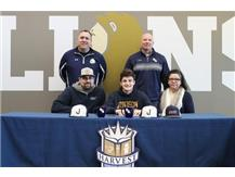 HCA Senior Dayne Frederick signs national letter of intent to play baseball at Judson University