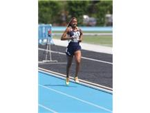HCA Senior Nygia Pollard caps a great career with a 3rd Place finish in the 3200M race on Saturday, to achieve All-State status for the 2nd year in a row in Track and Field  WE ARE LIONS