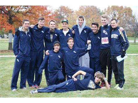 HCA's boys Cross Country team qualifies for the 2013 State Meet  as a team.