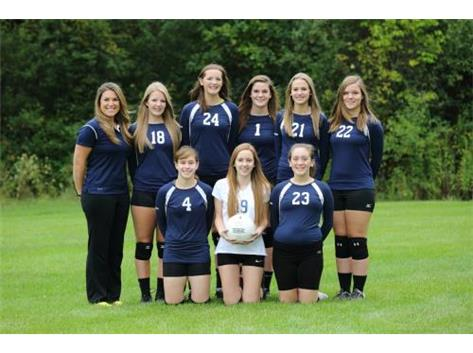 HCA Fresh/Soph Volleyball Team