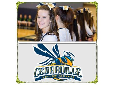 HCA senior Lindsey Seals will continue her cheerleading career at Cedarville University, as it was announced that she made the Yellowjacket cheer team for the 2015-2016 season.  