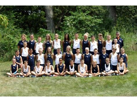 2015-2016 Middle School Cross Country Team