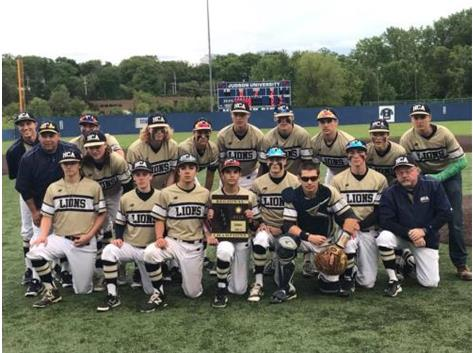 2017 HCA boys baseball team wins 2nd consecutive IHSA Regional Title