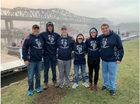 HCA 2019 Bass Fishing team.