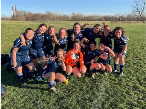 HCA 2019 Girls Soccer Team.