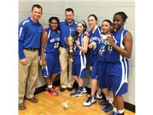8th Grade Girls Basketball City Of Lights Champions