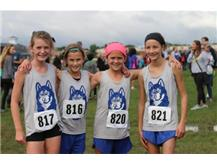 The sixth grade girls finished in 4th place out of 71 teams.  Great job!