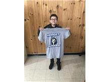 Student athlete of the week for wrestling!