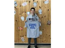Student athlete of the week for 8th basketball!