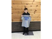 Student athlete of the week for 6th boys basketball!