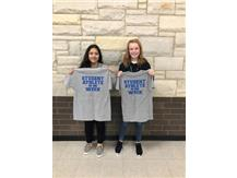 Student athletes of the week for 8th volleyball!