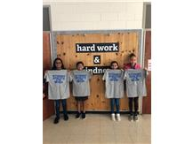 Student athletes of the week for 6th soccer and 6th volleyball!