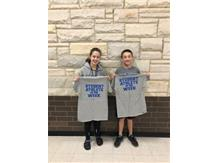 Student athletes of the week for cross country!