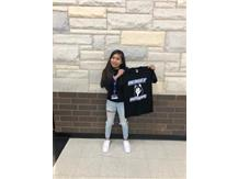 Student athlete of the week for 8th grade girls basketball!
