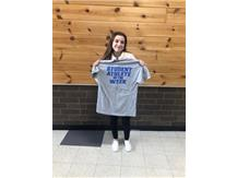 Student athlete of the week for 7th grade girls basketball!