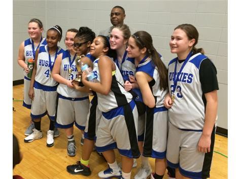 7th Grade Girls City Basketball Champions