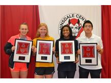 Congrats to our 3-Sport Athletes!