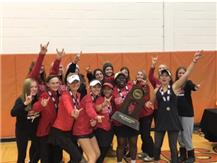 CONGRATULATIONS TO THE GIRLS STATE TENNIS CHAMPIONS!