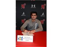 Congratulations, Nyme Hussain!  He will be playing football at University of Rochester in the fall!